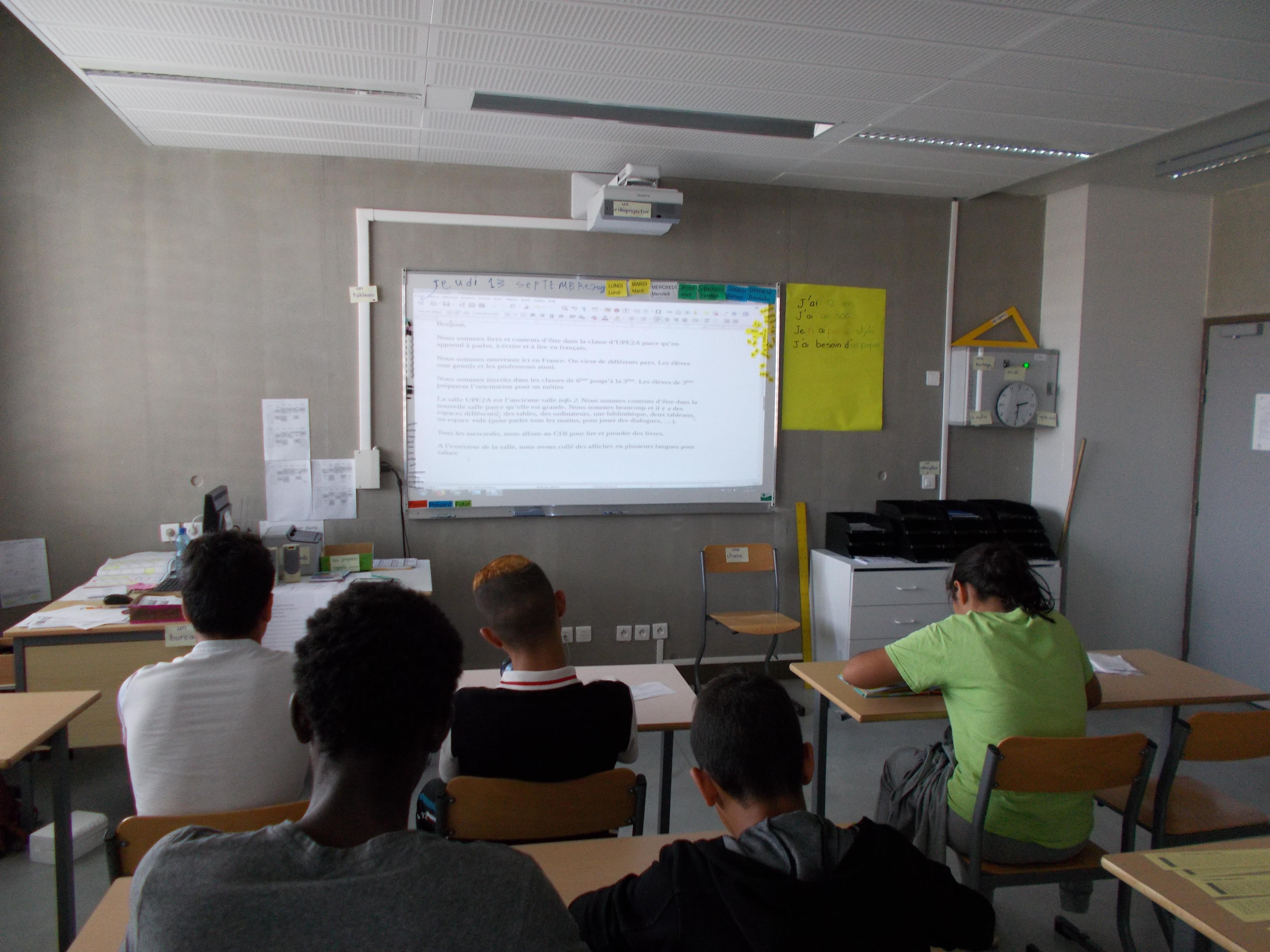 La classe UPE2A